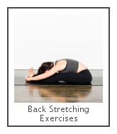 back stretching exercise