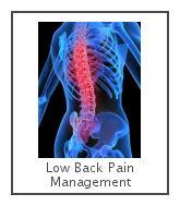 low back pain management