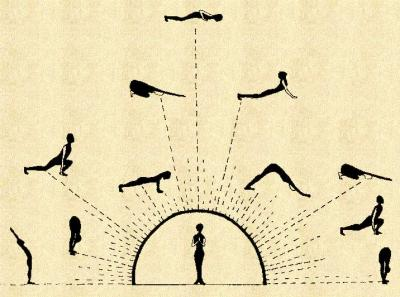 here comes the sun salutation