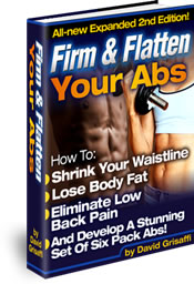 firm and flatten your abs graphic